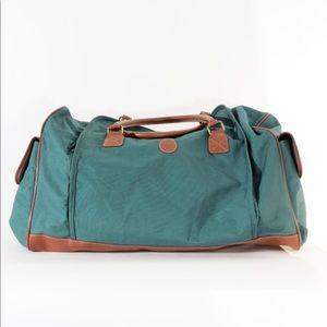 38705775381b Polo Ralph Lauren Green Fragrance Duffle Bag